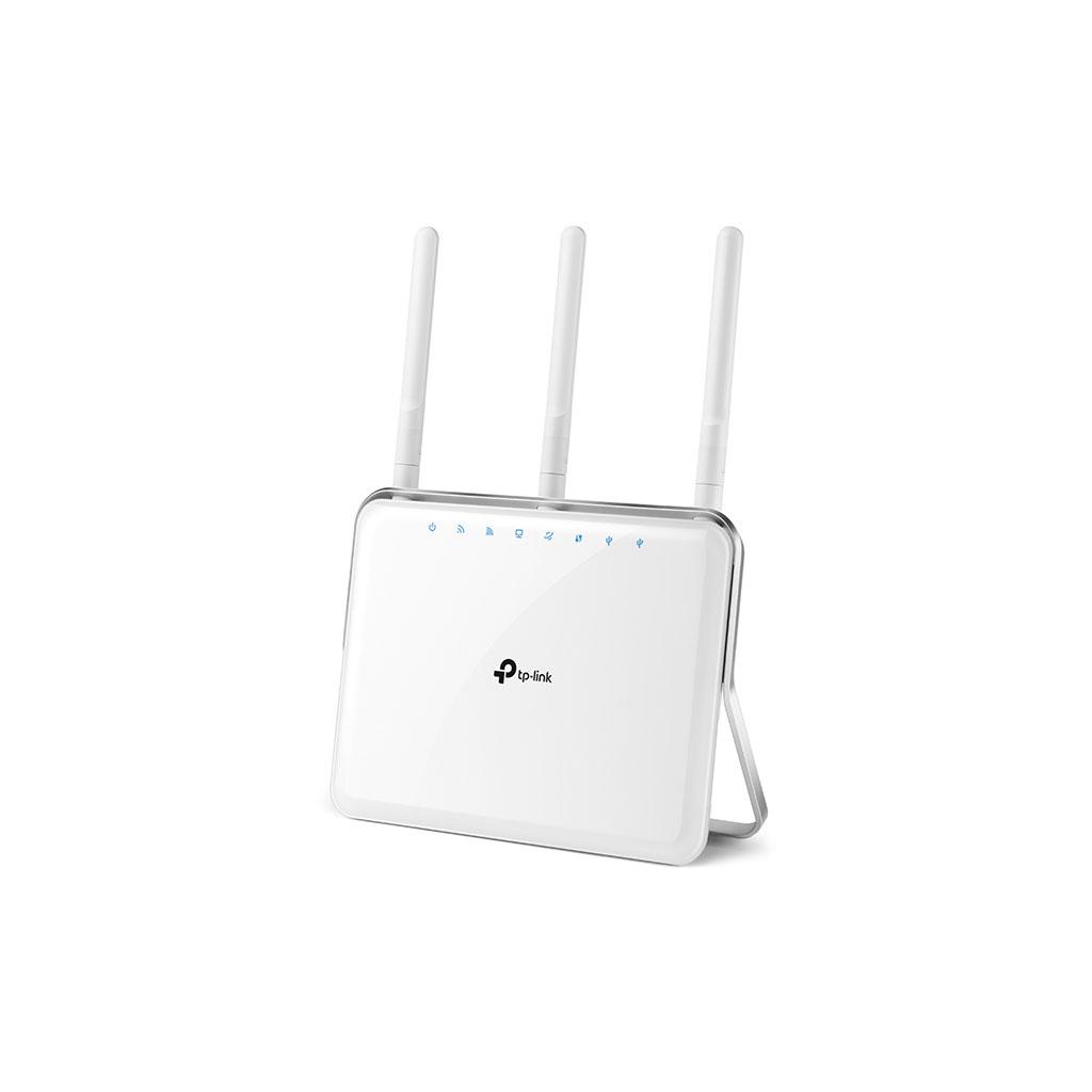 TP-LINK - Router Gigabit Inalámbrico de Banda Dual AC1900 C9