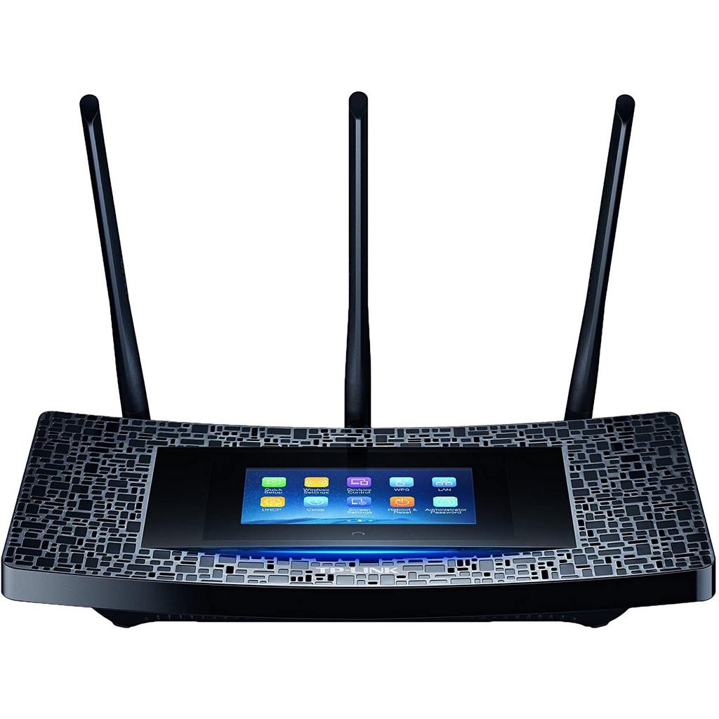 TP-LINK - Extensor de Cobertura Wi-Fi con Pantalla Táctil AC1900 RE590T