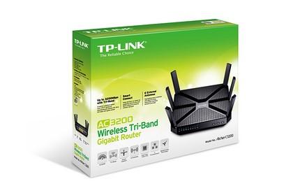 TP-LINK - Router Gigabit Inalámbrico Tri-Banda AC3200