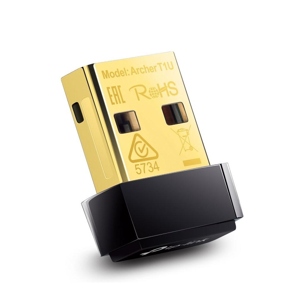 Adaptador Nano USB Inalámbrico AC450 T1U