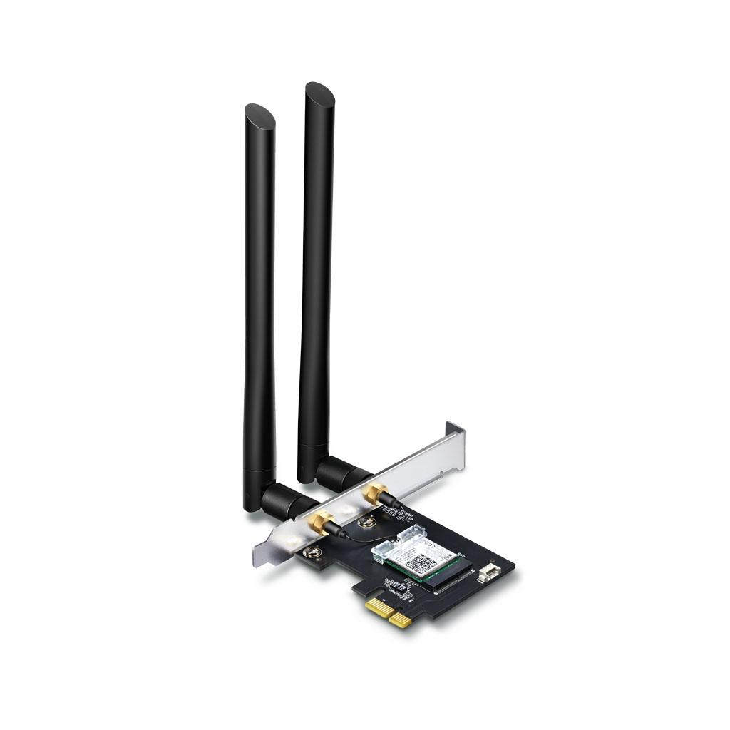TP-LINK - Adaptador AC1200 Wi-Fi Bluetooth 4.2 PCIe - Archer T5E
