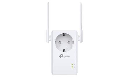 TP-LINK - Extensor de Cobertura Wi-Fi a 300 Mbps con Enchufe Incorporado - TL-WA860RE