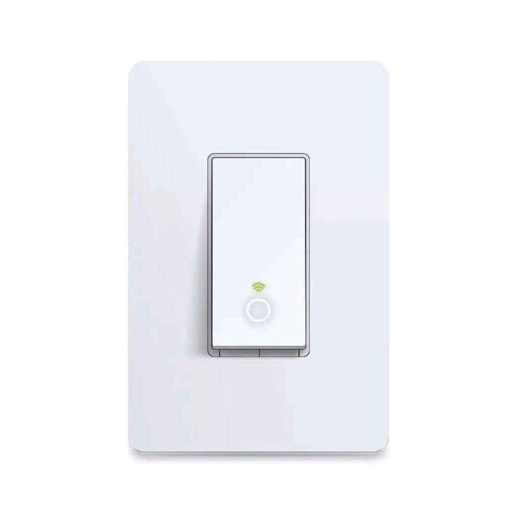 TP-Link Interruptor inteligente de luz, Wi-Fi, controla la iluminación desde cualquier lugar, fácil instalación en la pared - HS210
