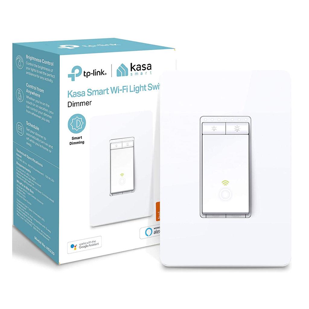 TP-LINK Smart WiFi Switch Control Iluminación desde cualquier lugar, HS220