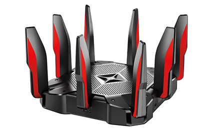 TP-LINK - AC5400 MU-MIMO Tri-Band Gaming Router