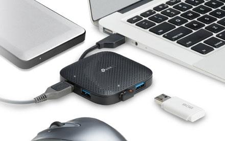Hub de 4 Puertos USB 3.0 - UH400
