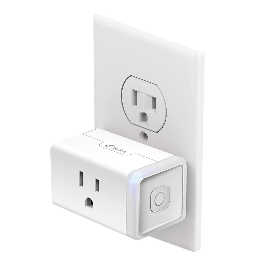 TP-Link KP115 - Enchufe inteligente para monitoreo de energía, color blanco