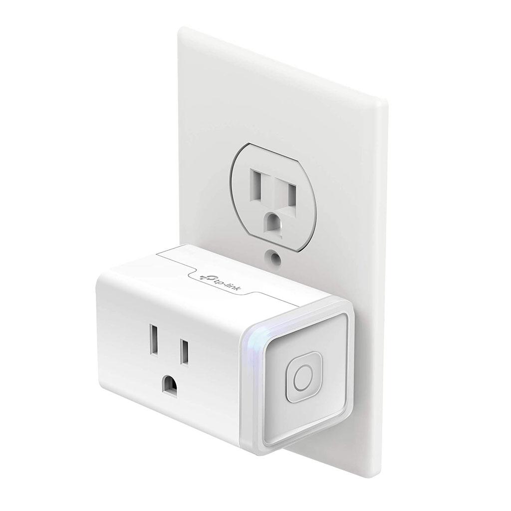 TP-Link KP115 - Enchufe inteligente para monitoreo de energía, color blanco