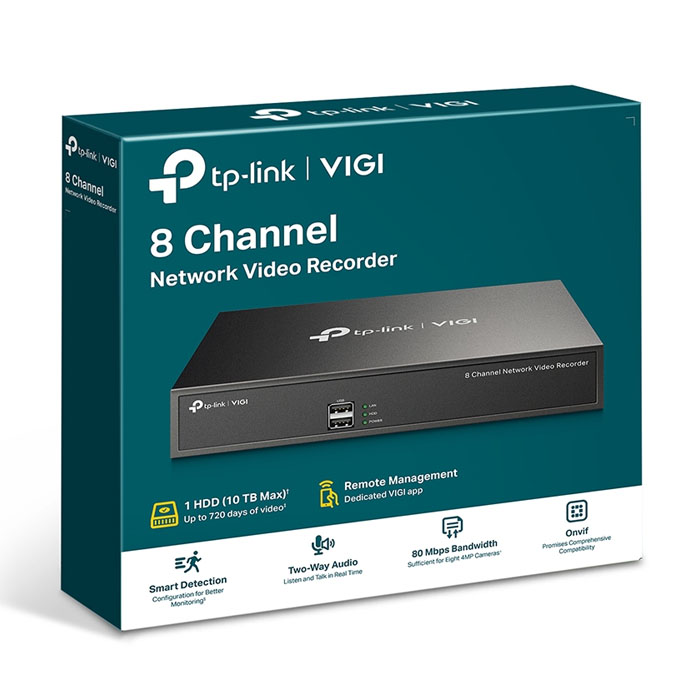 8 CHANNEL NETWORK VIDEO RECORDER