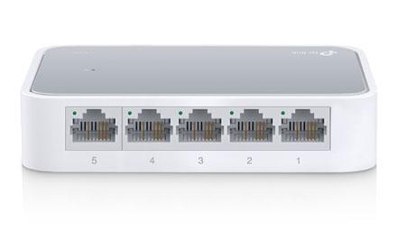 Switch de sobremesa con 5 puertos a 10/100 Mbps - TL-SF1005D