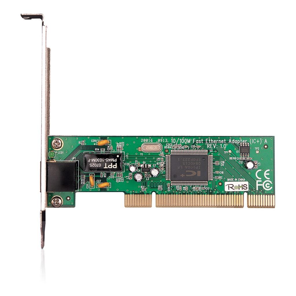 Adaptador de red PCI a 10/100 Mbps TF-3239DL