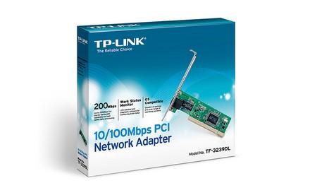 TP-LINK - Adaptador de red PCI a 10/100 Mbps TF-3239DL
