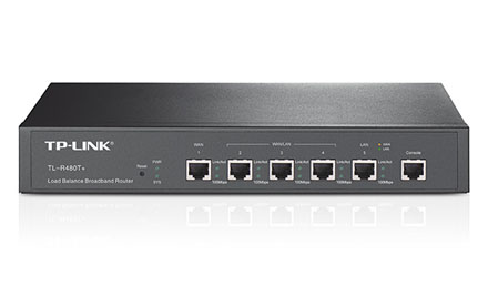 TP-LINK - Router Balanceador de Carga de Banda Ancha -TL-R480T+