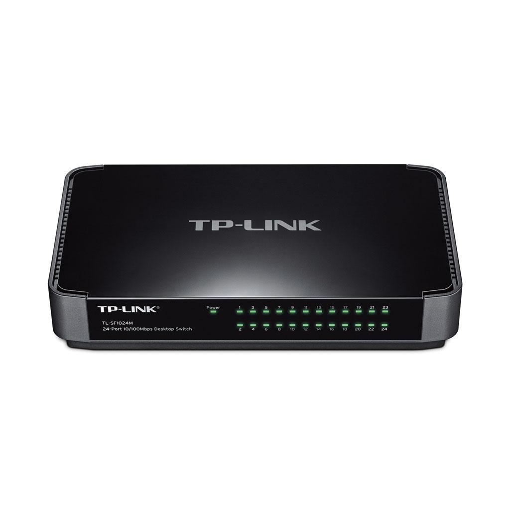 TP-LINK - Switch de 24 Puertos 10/100Mbps de Escritorio - TL-SF1024M