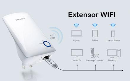 TP-LINK - Extensor de Cobertura Wi-Fi Universal a 300Mbps - TL-WA850RE