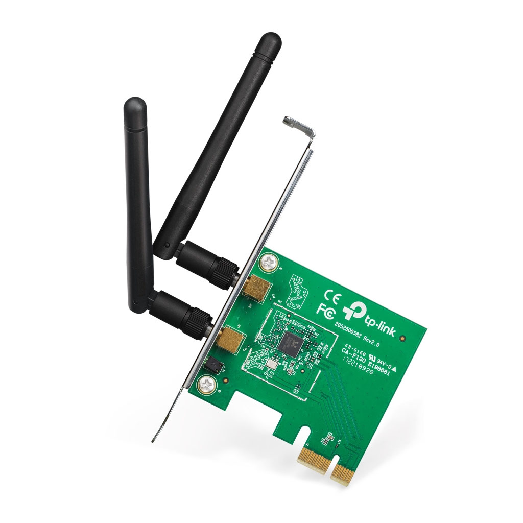 TP-LINK - Adaptador Inalámbrico N PCI Express 300Mbps - TL-WN881ND