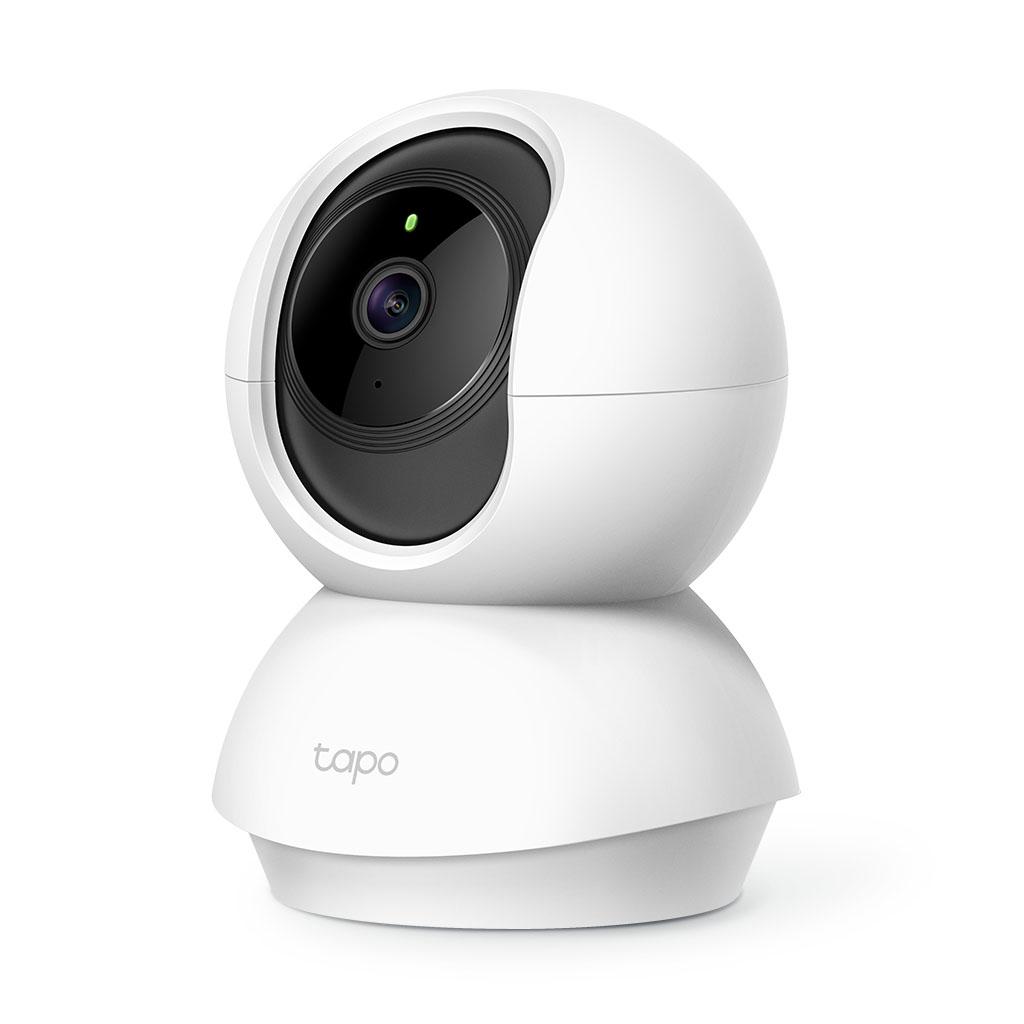 TP-LINK - Cámara Wi-Fi Rotatoria de Seguridad para Casa - Tapo C200