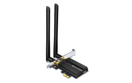 TP-LINK - Adaptador PCIe AX3000 Wi-Fi 6 Bluetooth 5.0 - ArcherTX50E