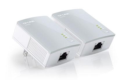 TP-LINK - Adaptador Nano Powerline AV500 Kit de Inicio - TL-PA4010 KIT