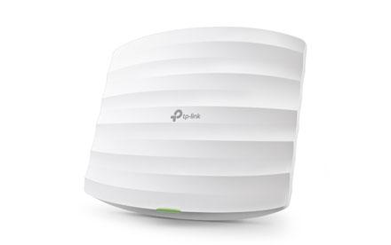 TP-LINK - Punto de Acceso Gigabit Inalámbrico de Doble Banda AC1750 con Montaje de Techo - EAP245
