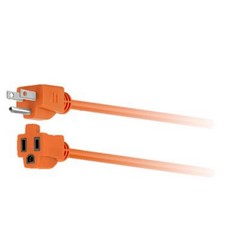 Forza - Power extension cable - Power NEMA 5-15 - 15 m - Outdoor 1-Out 16AWG