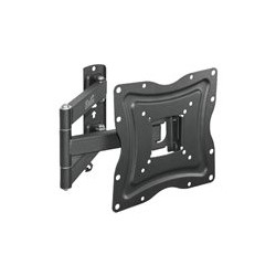 Klip Xtreme KPM-875 - Montaje en la pared para LCD / panel de plasma - acero con recubrimiento en polvo - negro - tamaño de pantalla: 13