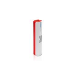 Klip Xtreme - Battery charger - 2600mAh-USB-Torch-RD