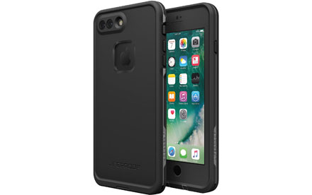LifeProof Fre - Carcasa protectora sumergible para tel�fono m�vil - gris Second Wind - para Apple iPhone 7 Plus