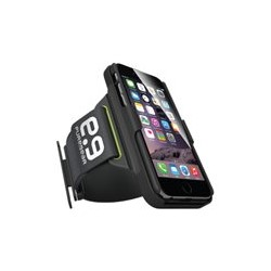 PureGear HIP Sports Armband - Bolso para tel�fono m�vil - pl�stico engomado - negro - para Apple iPhone 6