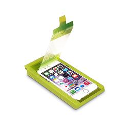 PureGear Tempered Glass with Smart + Buttons - Equipo de protecci�n de pantalla - para Apple iPhone 6, 6s