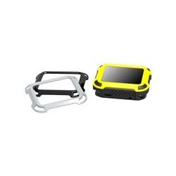 PureGear DualTek - Amortiguador para reloj inteligente - resistente - plástico engomado - gris, negro, amarillo - para Apple Watch (38 mm)