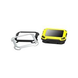 PureGear DualTek - Amortiguador para reloj inteligente - resistente - plástico engomado - gris, negro, amarillo - para Apple Watch (42 mm)