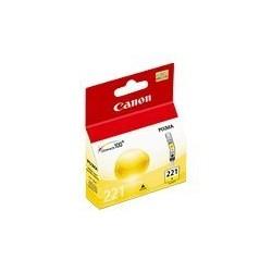 Canon CLI-221 - 9 ml - amarillo - original - depósito de tinta - para PIXMA iP3600, iP4600, iP4700, MP560, MP620, MP640, MP640R, MP980, MP990, MX860, MX870