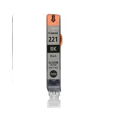 Canon CLI-221 - Negro - original - depósito de tinta - para PIXMA iP3600, iP4600, iP4700, MP560, MP620, MP640, MP640R, MP980, MX860, MX870