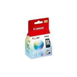 Canon CL-211 - Color (cian, magenta, amarillo) - original - dep�sito de tinta - para PIXMA MP240, MP282, MP480, MP490, MX320, MX330, MX340, MX350, MX360, MX410, MX420