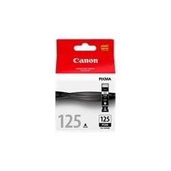 Canon PGI-125PGBK - 19 ml - negro - original - depósito de tinta - para PIXMA iP4810, iP4910, iX6510, MG5210, MG5310, MG6110, MG6210
