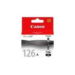 Canon CLI-126BK - 9 ml - negro - original - depósito de tinta - para PIXMA iP4810, iP4910, iX6510, MG5210, MG5310, MG6110, MG6210