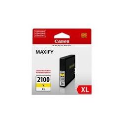 Canon PGI-2100XL Y - 19.3 ml - Alto rendimiento - amarillo - original - depósito de tinta - para MAXIFY iB4010, MB5110, MB5310, MB5410