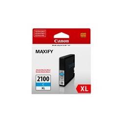 Canon PGI-2100XL C - 19.3 ml - Alto rendimiento - cián - original - depósito de tinta - para MAXIFY iB4010, MB5110, MB5310, MB5410