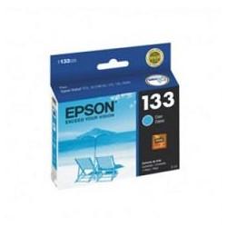 Epson 133 - 5 ml - cián - original - cartucho de tinta - para Stylus NX130, NX230, NX430, T22, T25, TX120, TX123, TX130, TX133, TX135, TX235, TX430
