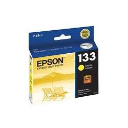 Epson 133 - Amarillo - original - cartucho de tinta - para Stylus NX130, NX230, NX430, TX123, TX130, TX133, TX135, TX235, TX430; Stylus Office TX320