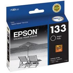 Epson 133 - Negro - original - cartucho de tinta - para Stylus TX235W, TX420W, TX430W, TX320F