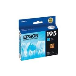 Epson T195 - Cián - original - cartucho de tinta - para Expression XP-101, XP-201, XP-211