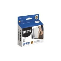 Epson T115 - Negro - original - cartucho de tinta - para Stylus Office T33