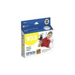Epson 103 - Amarillo - original - cartucho de tinta - para Stylus TX550W; Stylus Office T1100, T30, T40W, TX510FN, TX600FW, TX610FW