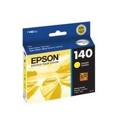 Epson 140 - Amarillo - original - cartucho de tinta - para Stylus TX560WD; Stylus Office TX525FW, TX620FWD; WorkForce T42WD, WF-3012