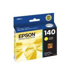 Epson 140 - Amarillo - original - cartucho de tinta - para Stylus TX560WD; Stylus Office TX525FW, TX620FWD; WorkForce T42WD, WF-3012