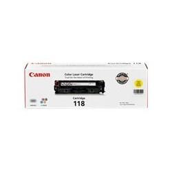 Canon 118 - Amarillo - original - cartucho de tóner - para Color imageCLASS MF726, MF729, MF8380, MF8580; ImageCLASS LBP7660, MF8380; i-SENSYS MF8380