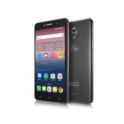 Alcatel PIXI 4 (6) 8050E - Smartphone (Android OS) - 3G - Android - Black - Touch - Phablet + Moveband