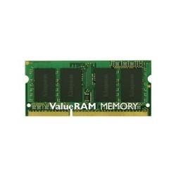 Kingston ValueRAM - DDR3 - 8 GB - SO DIMM de 204 espigas - 1600 MHz / PC3-12800 - CL11 - 1.5 V - sin memoria intermedia - no ECC